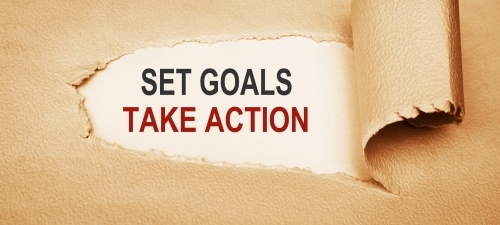 Setting goals and taking action