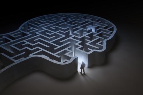 Decision mind maze