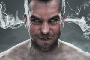 angry man stem